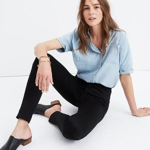 Madewell high rise jeans Tall NWT in black